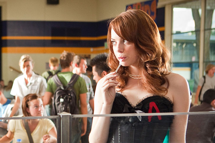 The parody in the movie is where Easy A might lose some viewers. At first, Easy A tries too hard to parody the classics, and the cliches/stereotypes of the ...