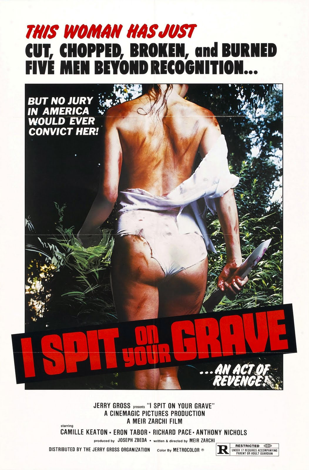 I Spit On Your Grave AKA Day of the Woman