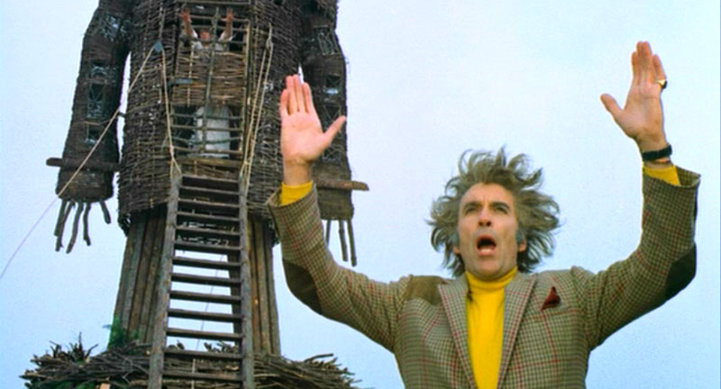 The Wicker Man Christopher Lee