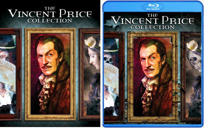 Vincent Price Collection Cover